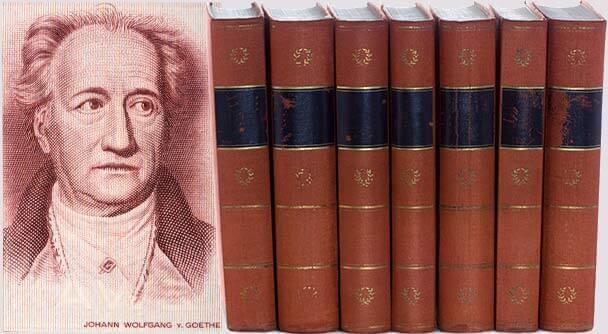Johann Wolfgang von Goethe Bücher
