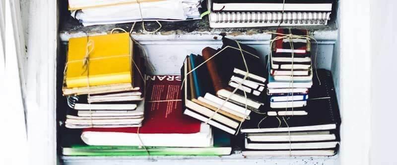Notizbücher und Bullet Journals